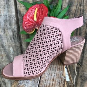 Vince Camuto Kanito Sandal Heather Rose 9 Wide